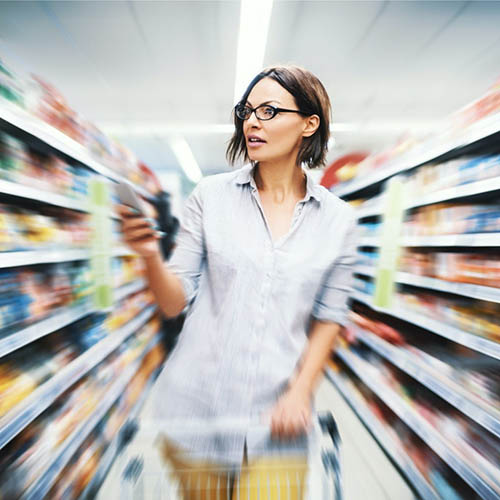 Grocery Shopping with Smartphone